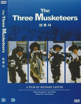 The Three Musketeers (1973) New Sealed DVD Oliver Reed