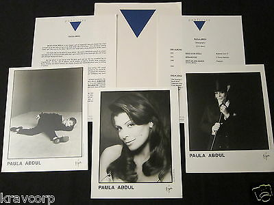 Paula Abdul 'Head Over Heels' 1995 Press Kit—3 Photos