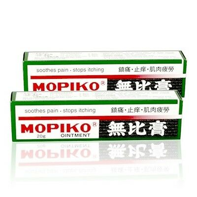 Japan Mopidick  Mopiko Ointment  for Muscle Fatigue Pain & Itchiness 20g