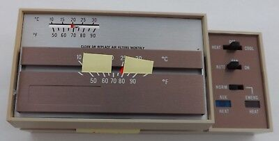 HPT18-60 Goodman Heat Pump Thermostat With Emergency Heat Manual Changeover