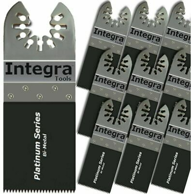 Integra® Tools 10 PC Bi-Metal Nail Eater Oscillating Saw Blades fits FEIN BOSCH