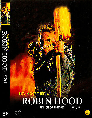 Robin Hood: Prince of Thieves (1991) New Sealed DVD Kevin Costner