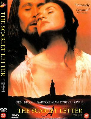 The Scarlet Letter (1995) New Sealed DVD Demi Moore