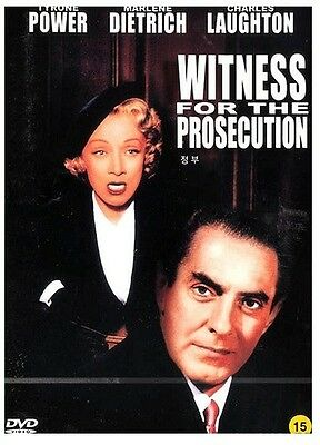 Witness for the Prosecution (1957)  New Sealed DVD Tyrone Power