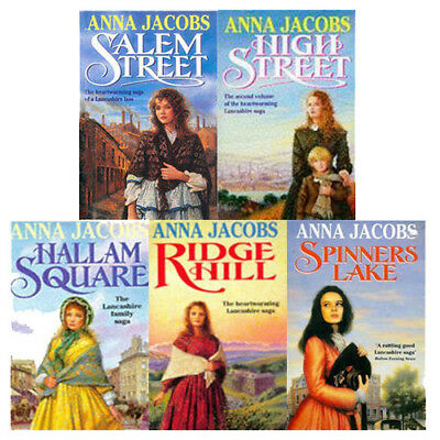 Gibson Family Saga Series Collection 5 Books Set By Anna Jacobs, Ridge Hill, NEW