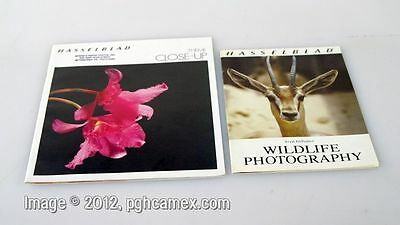 SET OF 2 HASSELBLAD BOOKLETS WILDLIFE   CLOSE UP