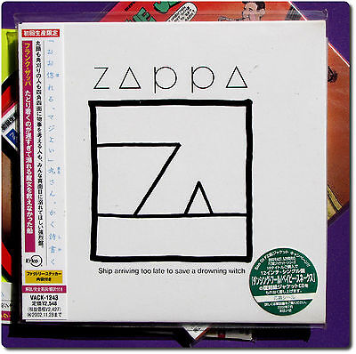Frank Zappa , Ship arriving too late to save a drow  ( CD Paper Sleeve , Japan )