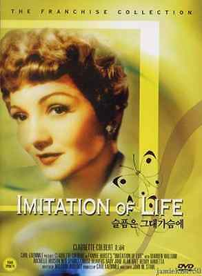 Imitation of Life (1934) New Sealed DVD Claudette Colbert