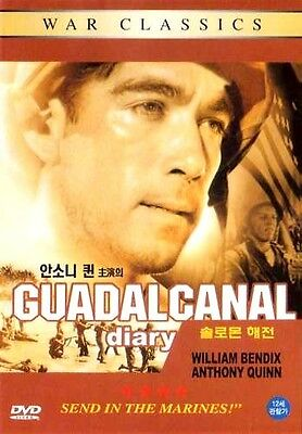 Guadalcanal Diary (1943) New Sealed DVD Anthony Quinn