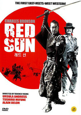 RED SUN (1971) New Sealed DVD Charles Bronson