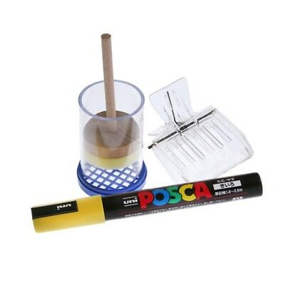 Beekeeping Queen marker set - YELLOW