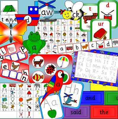 Bumper Literacy resources TO PRINT for the Early Years -  EYFS, SEN, phonics