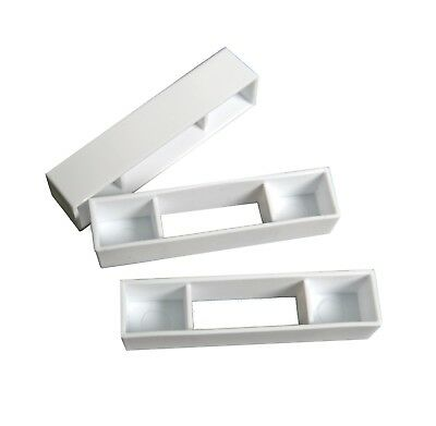 50 Wide beehive plastic frame ends / spacers