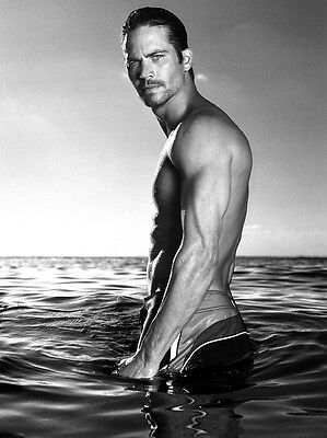 Paul Walker 8X10 Photo Hot and Sexy Fast and Furious Actor #04