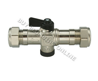 Grant Isolation Valve 15mm (MPCBS76) Cold Water Inlet