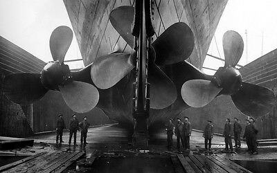 Bow of the Titanic  Glossy Photo print A4 or A5 size