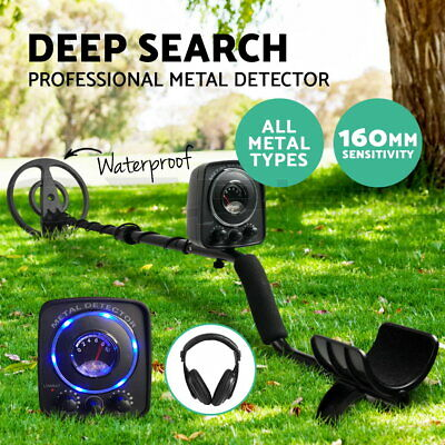 Deep Metal Detector Sensitive Searching Gold Digger LED Hunt Waterproof