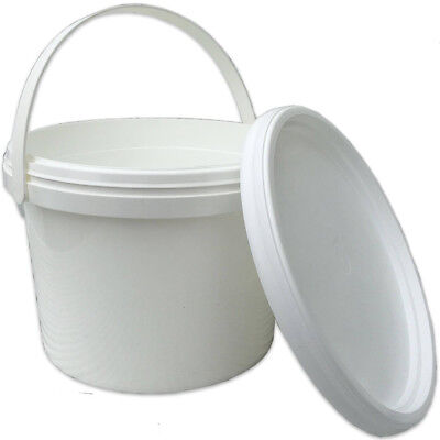 2 X Beekeepers 1 Gallon (5L) CONTACT  BUCKET FEEDERS