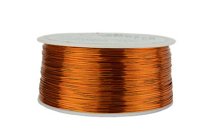 TEMCo Magnet Wire 25 AWG Gauge Enameled Copper 200C 1lb 995ft Coil Winding