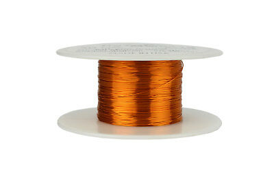 TEMCo 30 AWG Gauge Enameled Copper Magnet Wire 200C 2oz 391ft Coil Winding