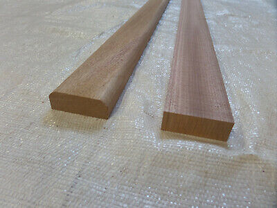 mahogany sapele quality moulded thick bench slats 1.22m (4ft) x 60mm x 20mm