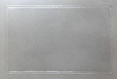 Self Adhesive Sticky Back Clear PVC Pockets A8, A7, A6 A5 Choose Size & Quantity