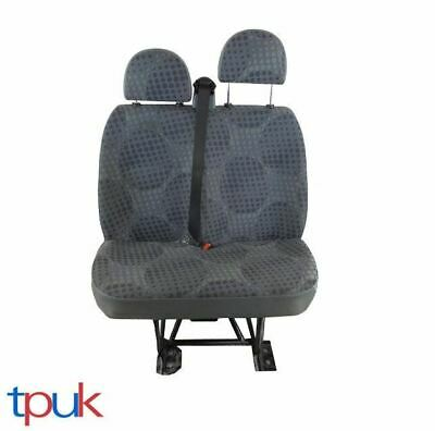 Ford Transit Mk7 Left Double Seat Front Passenger Bubble Pattern Fits Mk6