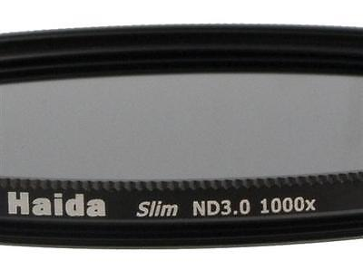 Haida Slim ND Graufilter ND1000x - 49mm inkl. Cap mit Innengriff