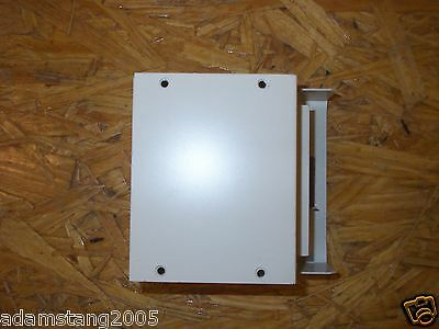 """WIREMOLD WIRE MOLD V4010D ENTRANCE END FITTING 4-5/8""""x2-5/8""""x3-11/16 IVORY"""