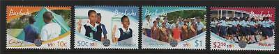 Barbados 2010 Cent.of Girl Guides 4v set NEW ISSUE MNH