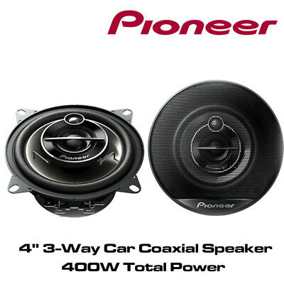 """PIONEER TS-G1023i 10cm 4"""" 10cm 200W PAIR CAR SPEAKERS 3WAY Coaxial Co axial"""