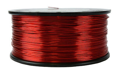 Magnet Wire 21 AWG Gauge Enameled Copper 1.5lb 155C 592ft Magnetic Coil Winding