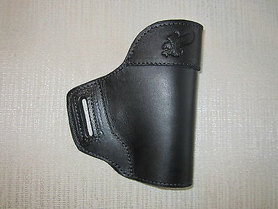 leather owb gun holster, Fits GLOCK,M&P,XD'S SUB COMPACTS,ALSO SIG P250,FNP