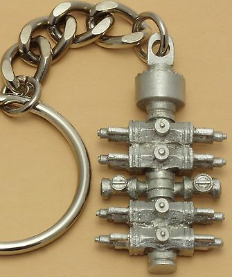 Oil Well BOP Keychain drill bit rig tricone blow out preventer oilfield trash