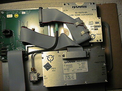 Harris Microwave Phase Lock Source W/ Low Noise Converter