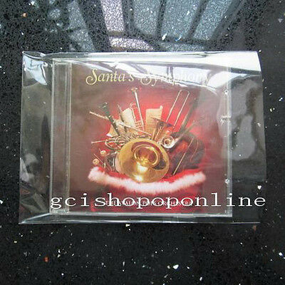 100 pcs Resealable outer plastic sleeve bag for JAPAN MINI LP CD