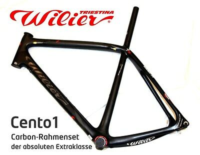 wilier cento1 carbon rennrad rahmen set 101 cento 1 black. Black Bedroom Furniture Sets. Home Design Ideas