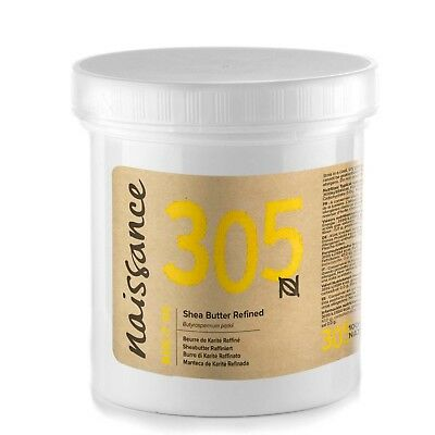 Naissance Shea Butter Refined 250g Ideal for Make Your Own Beauty Products