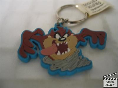 Taz vinyl keychain, Tasmanian Devil, Applause NEW