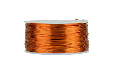 TEMCo Magnet Wire 27 AWG Gauge Enameled Copper 200C 1lb 1570ft Coil Winding