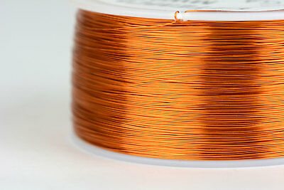 TEMCo Magnet Wire 29 AWG Gauge Enameled Copper 200C 1lb 2465ft Coil Winding