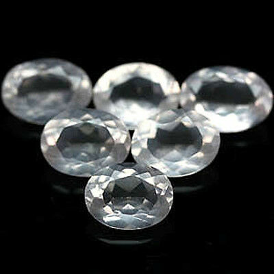 31.32 CT LOT 9 PIECES QUARTZ ROSE   pierres précieuses fines gems 12799