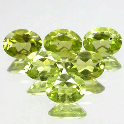 11.57 CT PERIDOT  LOT DE 9 PIECES pierres précieuses fines gems 12808