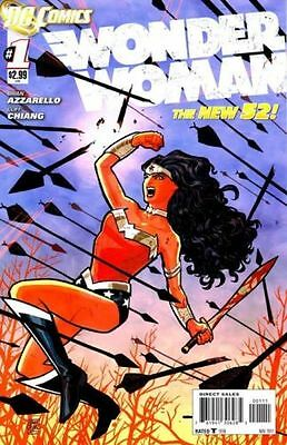 Wonder Woman # 1 - Dc Relaunch - New 52 - First Print -Very Hot & Rare 1St Print