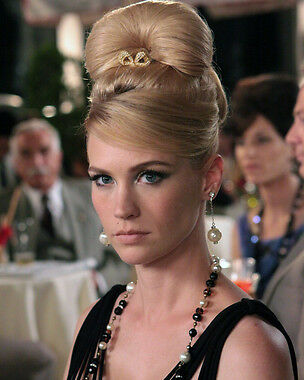 January Jones as Betty Draper in Mad Men 24X30 Poster hair up on head