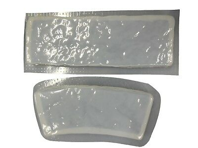 Rock Look Straight & Curved Border Edging Concrete Stepping Stone Mold 5017