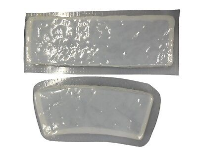 Rock Straight Curved Border Edging Edger Concrete Stepping Stone Mold 5017
