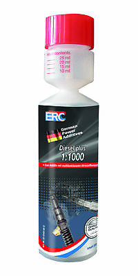 1,86€/100ml  ERC Diesel plus Biozid Additiv  1x250 ml 1:1000 Cetanbooster