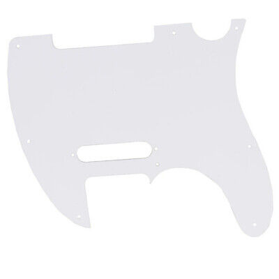 Telecaster Guitar Pickguard Scratchplate 3 Ply 8 Hole Red Tortoise Shell New