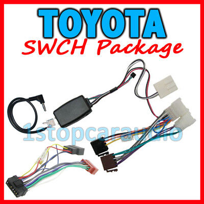 Toyota Aurion/camry 2007-2011 Steering Wheel Control Harness + Iso + Patch Lead